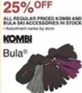 All Regular Priced Kombi and Bula Ski Accessories