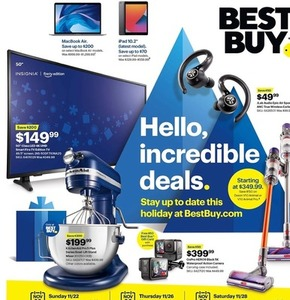 2020 Best Buy Black Friday Ad