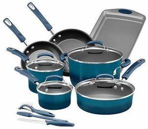 Rachael Ray 14-pc. Nonstick Aluminum Cookware set After Rebate + $15 Kohl's Cash