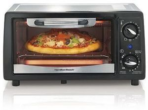 Hamilton Beach 4-Slice Toaster Oven After Rebate