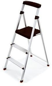 Rubbermaid Step Stool, 3-Step