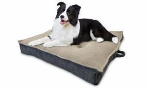 Jumbo Extra-Dense Pet Bed, 36-In.