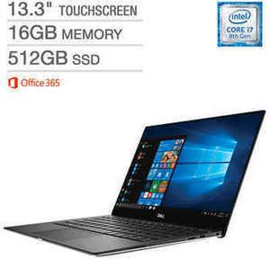 Dell XPS 13 Touchscreen Laptop - Intel Core i7 - 4K Ultra HD