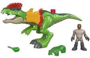 Imaginext Jurassic World Dilophosaurus & Agent