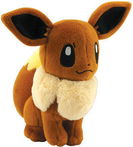 "Pokemon XY Evolutions Eevee 8"" Plush"