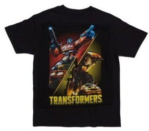 Short Sleeve Crew Neck Tee Shirt - Transformers