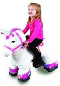 Dynacraft 6v Plush Unicorn Rideon