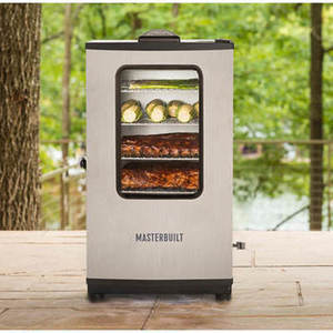 "Masterbuilt Digital Electric Smoker - Stainless Steel Masterbuilt 30"" Digital Electric Stainless Steel Smoker w/ Remote"