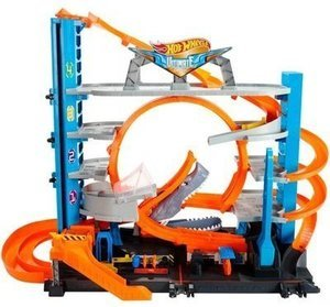 Hot Wheels Ultimate Garage Tower Shark Loop Racetrack Set