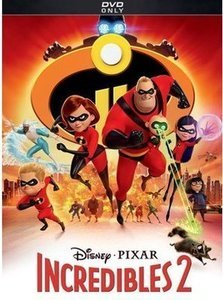 Incredibles 2 (DVD) & More Selected Movies