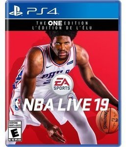 NBA LIVE 19 PS4 & More Selected VIdeo Games