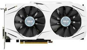 ASUS GeForce GTX 1060 DUAL-GTX1060-O6G 6GB 192-Bit GDDR5 PCI Express 3.0 HDCP Ready Video Card
