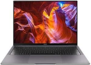 "Huawei Laptop MateBook X Pro 53010CAJ Intel Core i7 8th Gen 8550U (1.80 GHz) 16 GB Memory 512 GB PCIe NVMe SSD NVIDIA GeForce MX150 13.9"" Touchscreen Windows 10 Home 64-Bit"