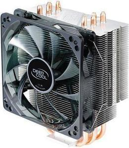 DEEPCOOL GAMMAXX 400-CPU Cooler 4 Heatpipes 120mm PWM Fan with Blue LED Easy installation (AM4 compatible)
