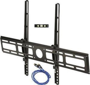 """Rosewill RHTB-14003 32""""-70"""" LCD LED TV Lockable Tilt Wall Mount with 6 ft. HDMI Cable, Bubble Level, Max Load 99 lbs., Black, Compatible with Samsung, Vizio, Sony, Panasonic, LG and Toshiba TV"""