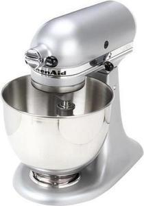 KitchenAid KSM85PBSM 4.5-Quart Tilt-Head Stand Mixer Silver Metallic