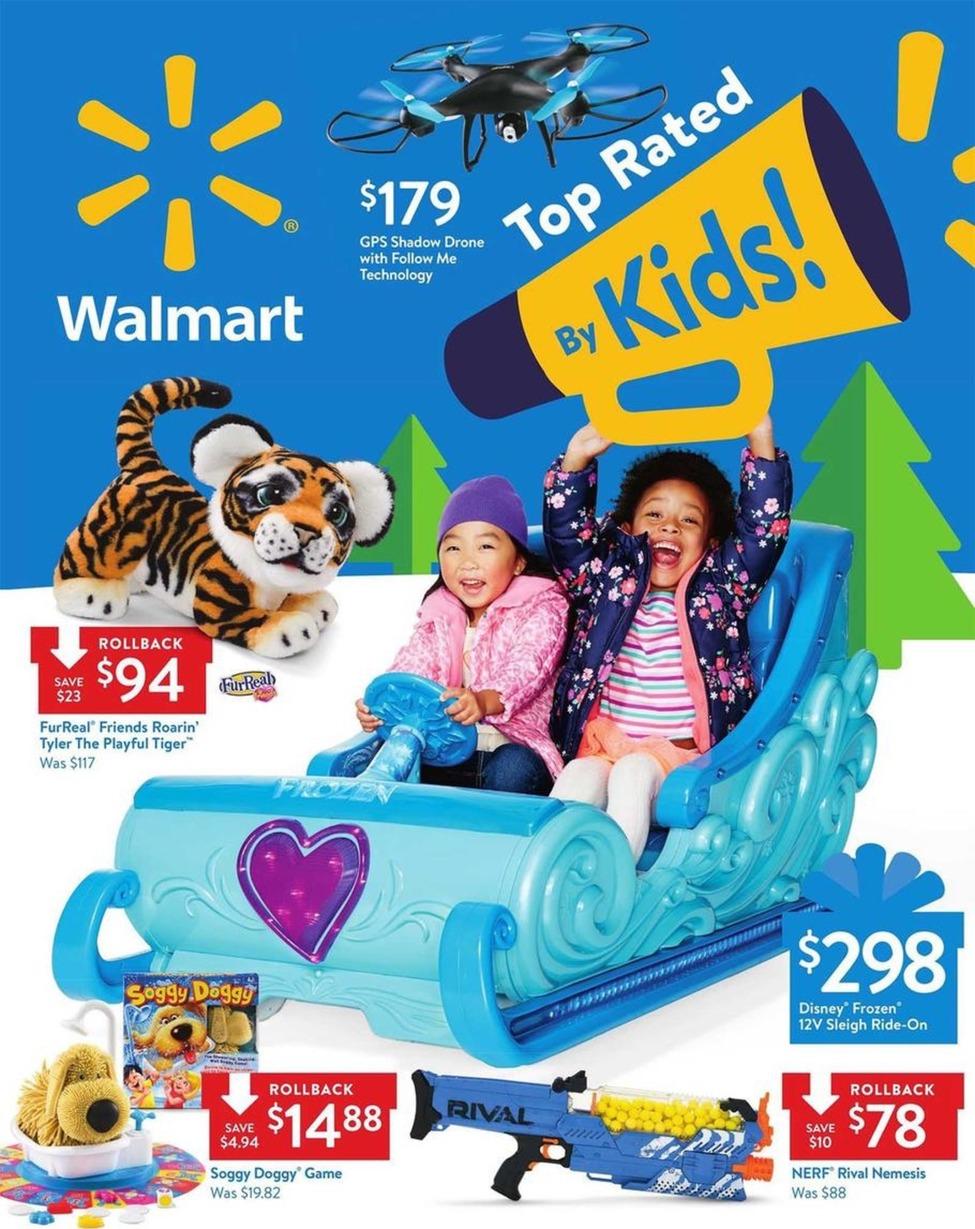 Walmart Toyland Black Friday 2018 - Ad Scan