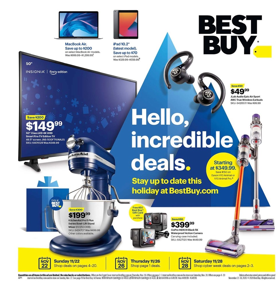 Best Buy Black Friday 2020 Ad Scan